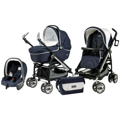 Peg-Perego - Carucior 3 in 1  Pliko Switch on Track Compact