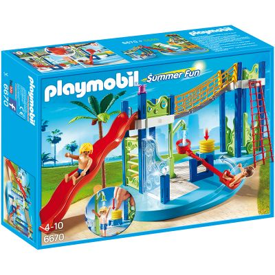 Playmobil - Zona de joaca in parcul acvatic