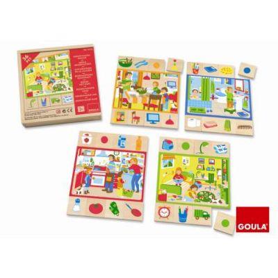 Goula - Puzzle casuta