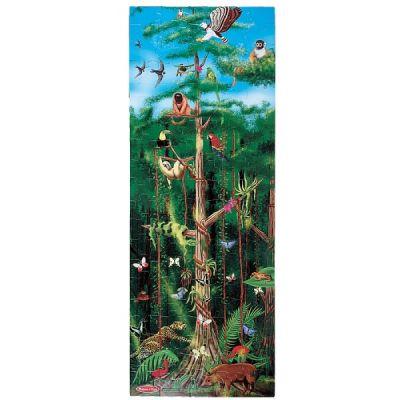 Melissa&Doug - Puzzle de podea Padurea Tropicala 100 pcs