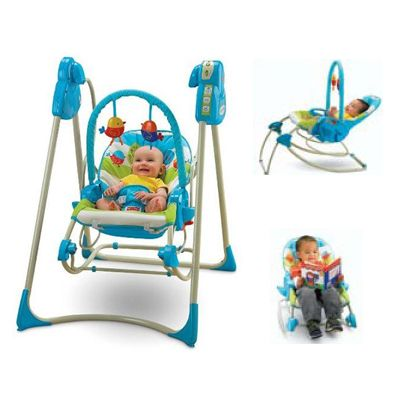 Fisher Price - Leagan 3in1 Swing 'n Rocker