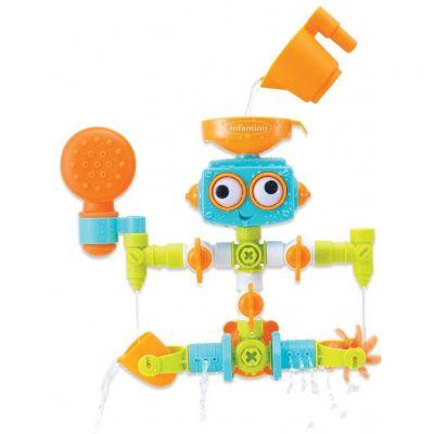 Jucarie de baie interactiva cu stropitoare Robot Infantino