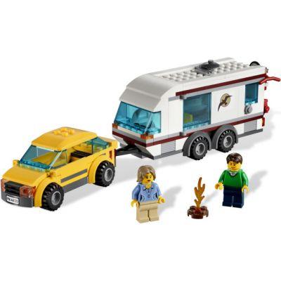 Lego - City masina cu rulota