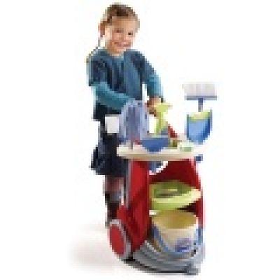 Simba Toys - Set de curăţenie cu cărucior