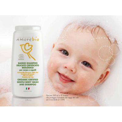 AmoreBio - Sampon organic delicat