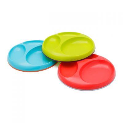 Boon - Set 3 farfurii compartimentate Saucer