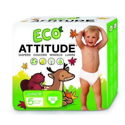 Attitude - Scutece ecologice de unica folosinta marime 5