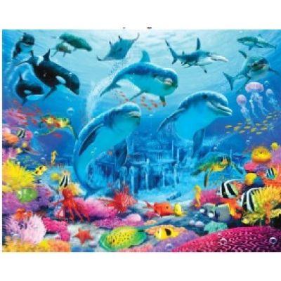 Walltastic - Tapet pentru copii Sea Adventure