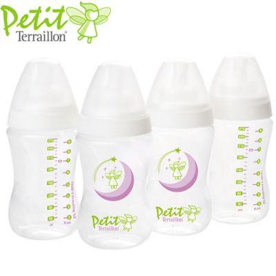 Petit Terrallion - Set 4 biberoane 270 ml