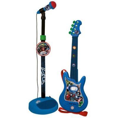 Reig Musicals - Set chitara si microfon Avengers