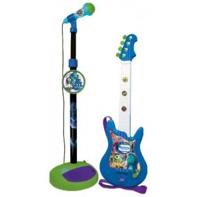 Reig Musicals - Set chitara si microfon Monsters University