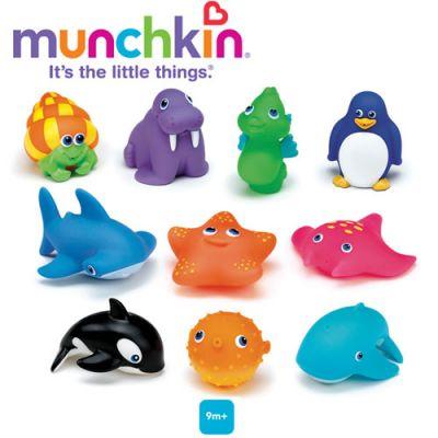 Munchkin - Set 10 jucarioare de baie