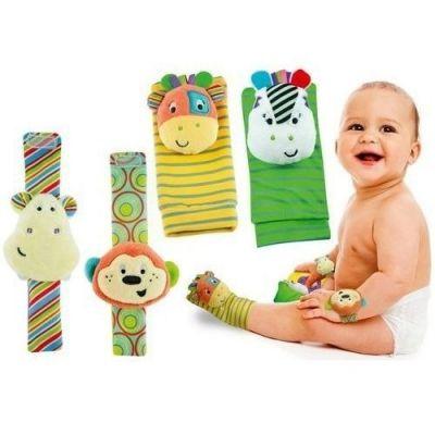 Set botosei si bratari bebe cu zornaitoare Smily Play