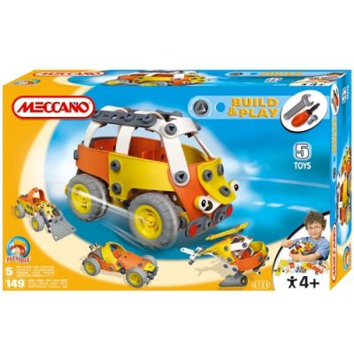 Meccano - Set Build & Play Bus