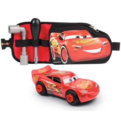 Jucarie Smoby Centura Cars 3 cu unelte si masinuta McQueen
