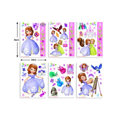 Walltastic - Stickere decorationale Sofia Disney Intai