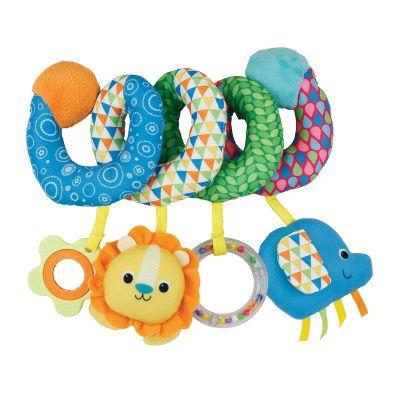 Spirala cu jucarii pentru patut si carucior Winfun Happy Animals