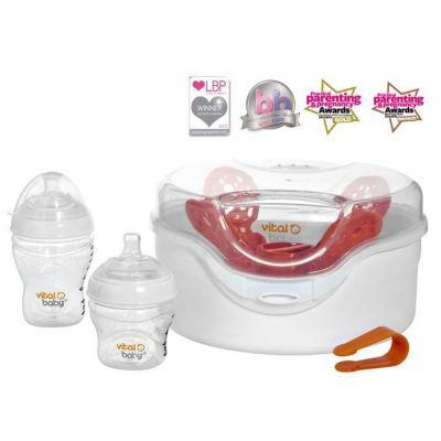 Vital Baby - Sterilizator Nurture pentru cuptorul cu microunde