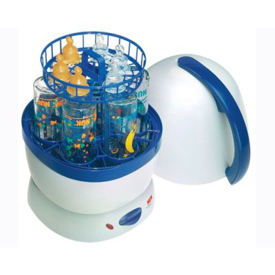 Nuk - Sterilizator electric 5 biberoane si preparator alimente
