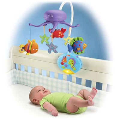 Fisher Price -  Carusel Ocean Wonders Deep Blue Sea Deluxe