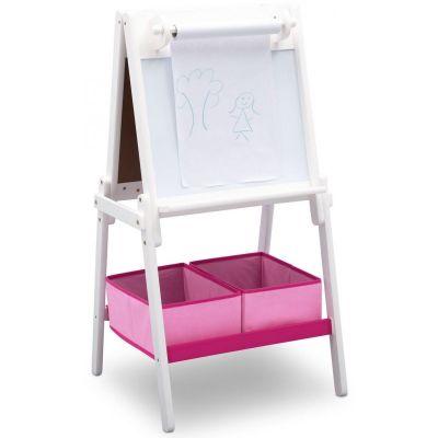 Delta Children -  Tabla magnetica multifunctionala Premium White