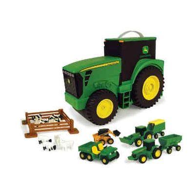 Tomy - Tractor John Deere pentru depozitare