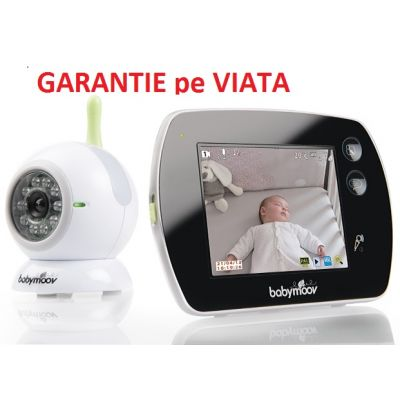 Babymoov - Videointerfon bi-directional cu Touch Screen
