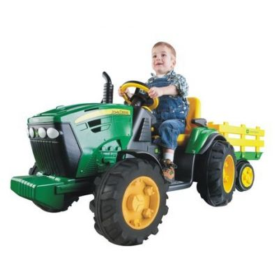Peg-Perego - Tractor JD Ground Force