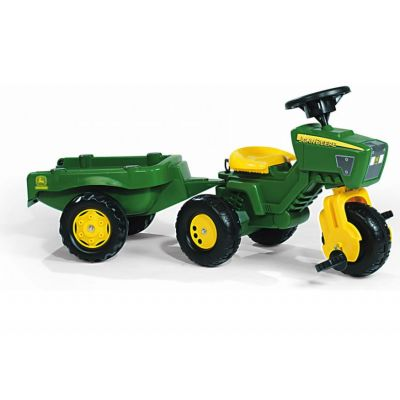 Rolly Toys - Tractor Tricicleta cu remorca 052769
