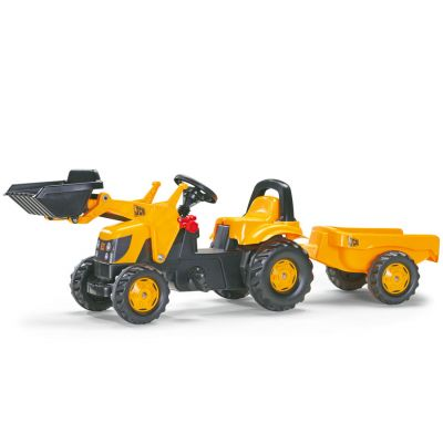 Rolly Toys - Tractor cu pedale si remorca 023837