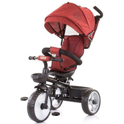 Tricicleta Chipolino Tempo red linen