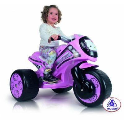 Injusa - Tricicleta electrica Hello Kitty