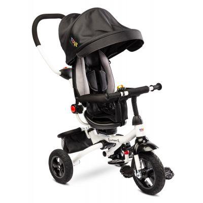 Tricicleta pliabila cu sezut reversibil Toyz Wroom Black