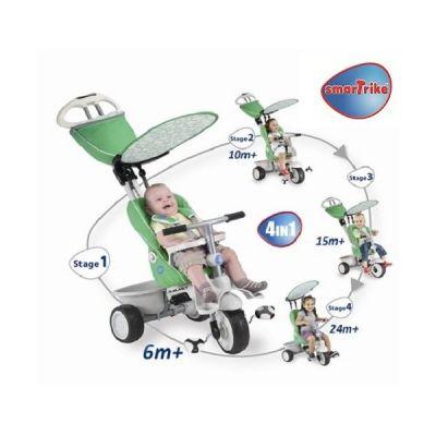 Smart Trike - Tricicleta Recliner Stroller 4 in 1
