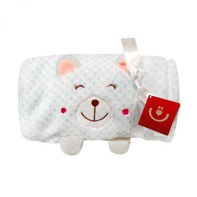 Bobobaby - Paturica bebe cu aplicatii 3D Gift Pisicuta