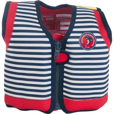 Konfidence - Vesta inot copii cu sistem de flotabilitate ajustabil The Original blue stripe