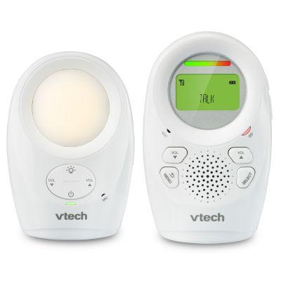 Interfon digital bidirectional Vtech DM1211, raza actiune extinsa 450 m si lampa de veghe