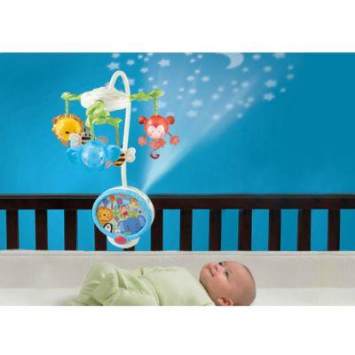 Fisher Price - Carusel cu Proiector Twinkling Lights