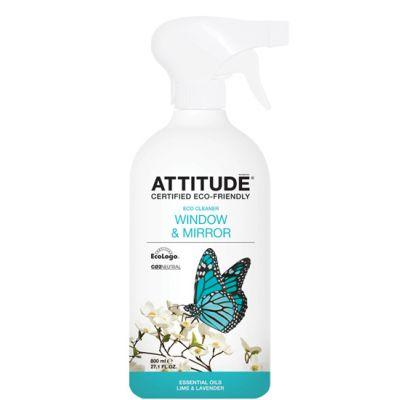 Attitude - Solutie de curatat geamurile cu Lime si Lavanda 800 ml