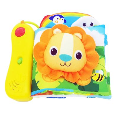 Carticica senzoriala muzicala Winfun Happy Jungle Pals