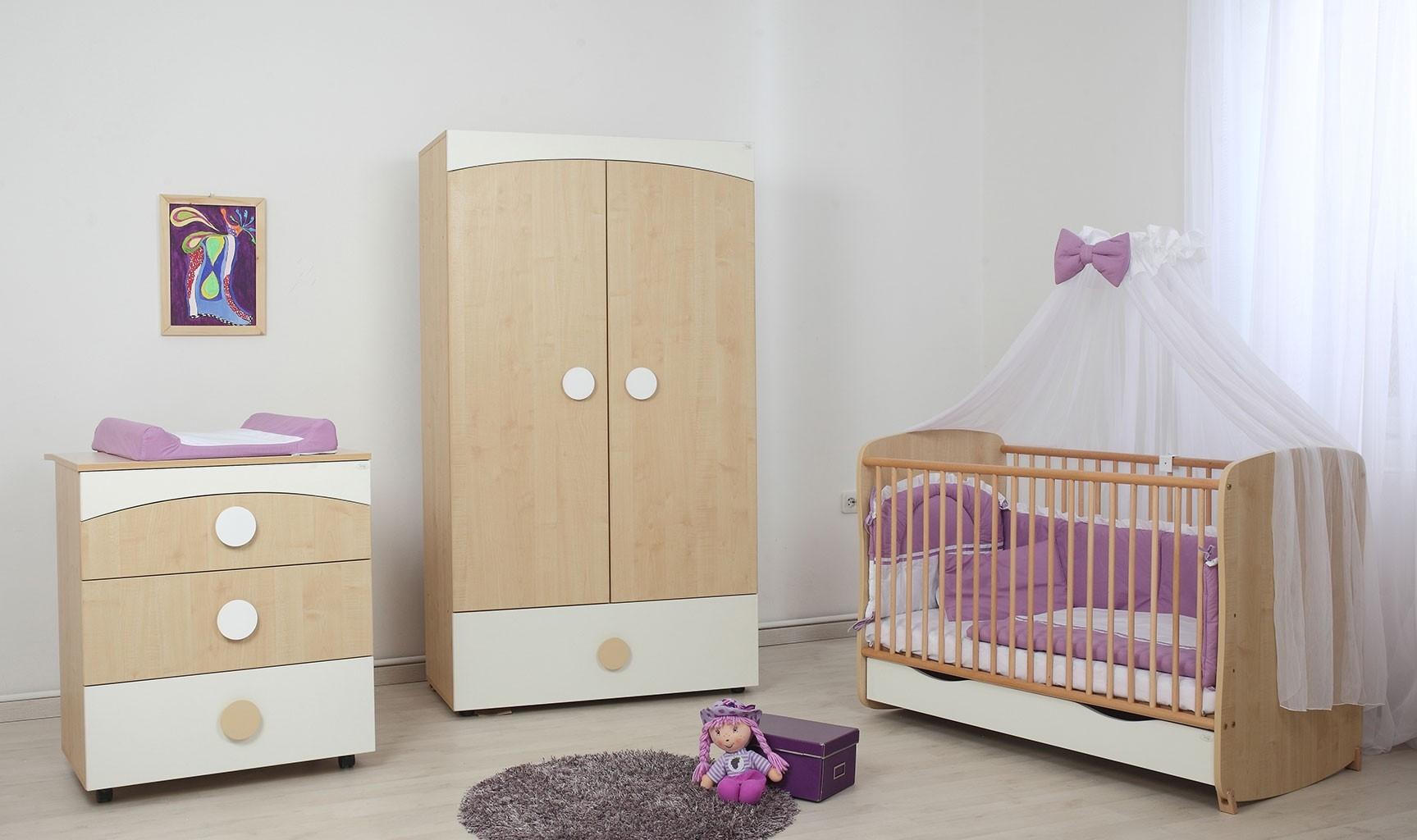 mobilier camera bebe clasic fashion de la bebe design. Black Bedroom Furniture Sets. Home Design Ideas