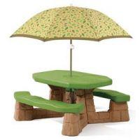 Step2 - Masa picnic cu umbrela