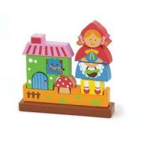Puzzle 3D Magnetic Scufita Rosie - New Classic Toys