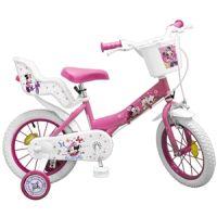 """Toim - Bicicleta 14"""" Minnie Mouse Club House Fete"""