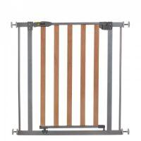 Hauck - Poarta de siguranta Wood Lock Safety Gate Silver 75-80