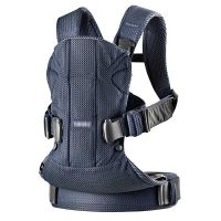 BabyBjorn - Marsupiu anatomic One Air Navy Blue 3D Mesh