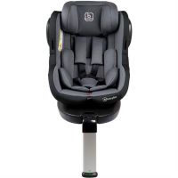 BabyGo - Scaun auto 0-18kg ISO Rotativ 360 cu Isofix Grey