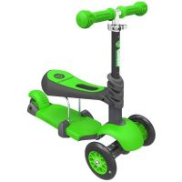 Trotineta Ybike Yvolution Glider 3 in 1 green