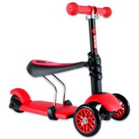 Trotineta Ybike Yvolution Glider 3 in 1 red