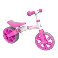 Bicicleta fara pedale Ykibe Yvolution Yvelo Junior pink